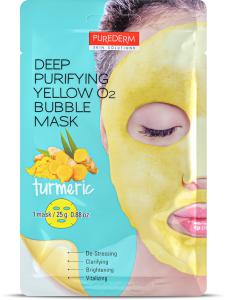 Purederm Deep Purifying Bubble Mask Tumeric