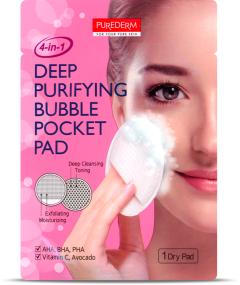 Purederm Deep Cleansing Bubble Pocket Pad