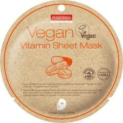 Purederm Vegan Vitamin Sheet Mask (23g)