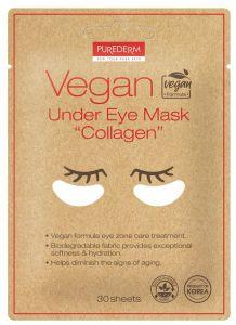 """Purederm Vegan Under Eye Mask """"COLLAGEN"""" (30pcs)"""