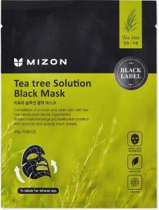 Mizon Teatree Solution Black Mask (25mL)