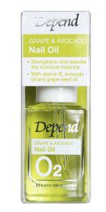 Depend O2 Grape&Avocado Nail Oil (11mL)