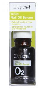 Depend O2 Argan Nail Oil Serum (10mL)