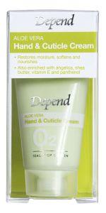 Depend O2 Aloe Vera Hand &Cuticle Cream (20mL)
