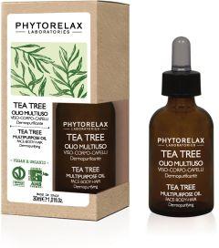 Phytorelax Tea Tree Multipurpose Oil Face-Body-Hair (30mL)