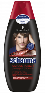 Schauma Shampoo Carbon Force 5 (400mL)