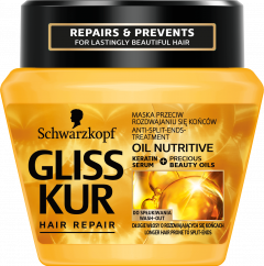 Gliss Kur Treatment Jar Oil Nutritive (300mL)