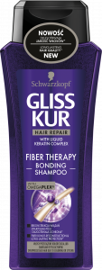 Gliss Kur Shampoo Fiber Theraphy (250mL)
