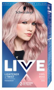 Schwarzkopf Live Light + Twist 101 Cool Rose
