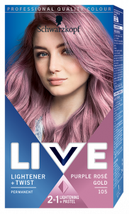 Schwarzkopf Live Ultra Bright or Pastel 105 Purple Rosé Gold