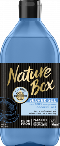 Nature Box Shower Gel Coconut Oil Quench (385mL)