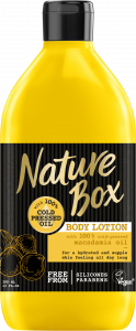 Nature Box Body Lotion Macadamia Oil Indulge (385mL)