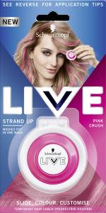 Schwarzkopf Live Cushions (3.5g) Pink Crush