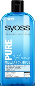 Syoss Shampoo Pure Volume (500mL)