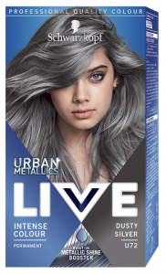 Schwarzkopf Live Urban Metallics U72 Dusty Silver