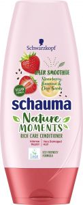 Schauma Nature Moments Hair Smoothies Conditioner Strawberry (200mL)