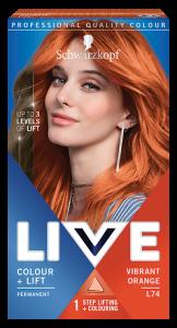Schwarzkopf Live Color+lift L74 Vibrant Orange