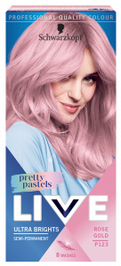 Schwarzkopf Live Ultra Brights Pretty Pastels P123 Rose Gold