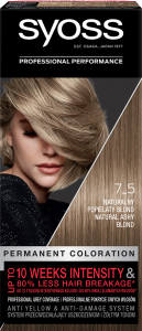 Syoss Color 75 Natural Ashy Blond