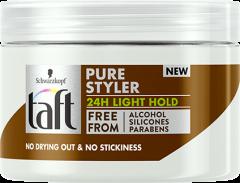 Taft Hair Cream Pure Styler Light Hold (150mL)