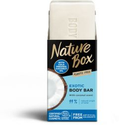 Nature Box Body Bar With Coconut Oil (100g)