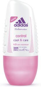 Adidas Cool & Care Control Roll-On Deodorant (50mL)