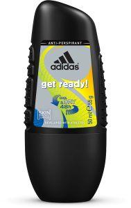 Adidas Get Ready! For Him Roll-On Deodorant (50mL)