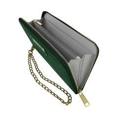 iDeal of Sweden Chelsea Wristlet Velvet, Green