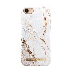 iDeal of Sweden Fashion Case iPhone 8/7/SE (2020) Carrara Gold