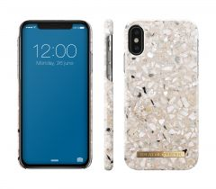 iDeal of Sweden Fashion Case iPhone X/XS Greige Terrazzo