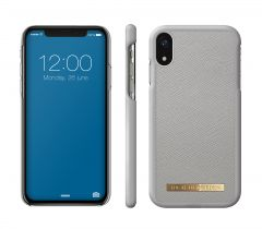 iDeal of Sweden Fashion Case Saffiano iPhone XR Light Grey