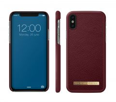 iDeal of Sweden Fashion Case Saffiano iPhone X/XS Burgundy