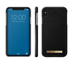 iDeal of Sweden Fashion Case Saffiano iPhone XS Max Black