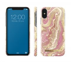 iDeal of Sweden Fashion Case iPhone X/XS Golden Blush Marble