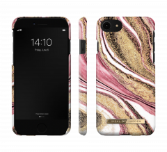 iDeal of Sweden Fashion Case iPhone 8/7/SE (2020) Cosmic Pink Swirl