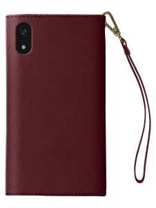 iDeal of Sweden Mayfair Clutch iPhone XR Burgundy