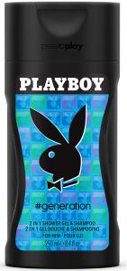 Playboy #Generation For Him Shower Gel (250mL)