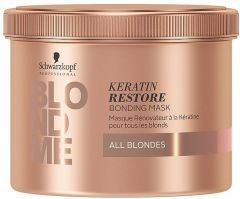 Schwarzkopf Professional Blond Me Keratin Restore Bonding Mask (500mL)