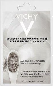 Vichy Argile Purifiant Pores Masque (2x6mL)