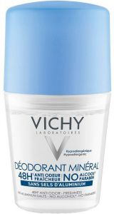 Vichy Mineral Roll-on Deodorant (50mL)
