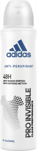 Adidas Pro Invisible Anti Perspirant Spray for Her (150mL)