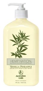 Australian Gold Hemp Nation Tan Extender Vanilla-Pineapple (535mL)