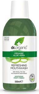 Dr. Organic Aloe Vera Mouthwash (500mL)