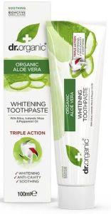 Dr. Organic Aloe Vera Toothpaste (100mL)