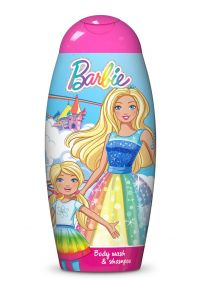 Bi-es Barbie Dreamtopia 2in1 Shampoo & Shower Gel (250mL)