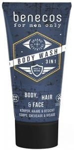 Benecos For Men Only Body Wash 3in1 (200mL)