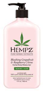 Hempz Blushing Grapefruit & Rasberry Cream Herbal Body Moisturizer (500mL)