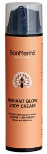 BonMerité Radiant Glow Body Cream Carrot / Cranberry (200mL)