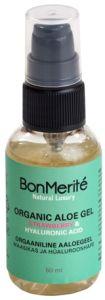 BonMerité Organic Aloe Gel Strawberry & Hyaluronic Acid (50mL)