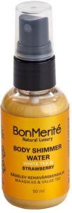 BonMerité Body Shimmer Water White Tea & Strawberry (50mL)